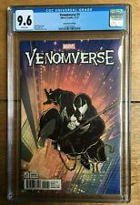 VENOMVERSE #1 1:1000 Todd McFarlane Remastered Variant CGC 9.6 1260735003