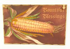 """Thanksgiving Sign Bountiful Blessings 14"""" Wall Hanging by Primitives by Kathy"""