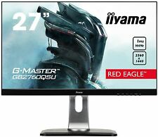 Iiyama G-Master Red Eagle 27 inch LED 144Hz 1ms Gaming Monitor - 2560 x 1440