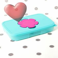 NEW Tupperware Slimline Wipes Dispenser Glovebox size Tissues Baby