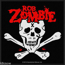 """ROB ZOMBIE DEAD RETURN EMBROIDERED PATCH 10CM X 9.5CM (4"""" X  3 3/4"""")"""