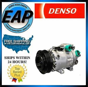For 2010-2012 Santa Fe Sorento 2.4L 4cyl OEM Denso AC A/C Compressor NEW