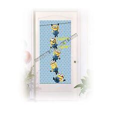 Decorata Party Minions Plastic Door Banner 75 X 150cm 55568