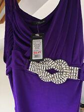 Polyester One Shoulder Jane Norman Dresses for Women