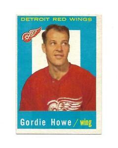 1959-60 Topps:#63 Gordie Howe,Red Wings