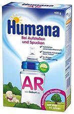 Humana Babynahrung