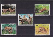 Z2] série complete set ** Rwanda Leopard Buzin