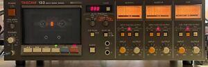 Tascam Teac 133 Cassette Deck Player Recorder VU Meters