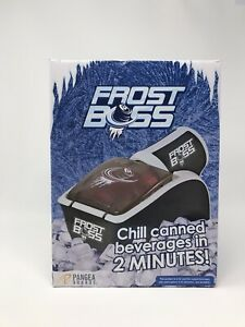 Frost Boss Can Cooler Tailgate Party Drink Beer - Black - No Team Affiliate Rare
