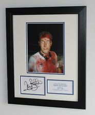 FRAMED Terry Butcher England SIGNED Autograph Photo Mount COA Ipswich Rangers