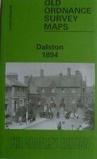 Old Ordnance Survey Detailed Maps Dalston near Hackney London 1894 Godfrey Edt