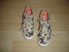KEDS GIRLS Mädchen Canvas Chucks Textil SNEAKER Halbschuhe Gr. 35 Schmetterling