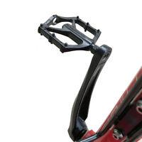 2pcs Road Mountain Bike Bicycle Pedals Aluminum Alloy MTB Flat Platform Black UK