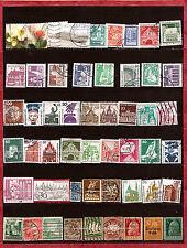 ALLEMAGNE Pochette 50 timbres oblitérés TOUS DIFFERENTS bon etat K50-4