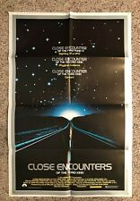 Close Encounters Of The Third Kind Original 1977 Movie Poster 23 X 35