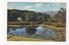 Terraces & Mountains Bodnant Denbighshire 1975 Postcard 805a