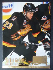 NHL 383 Martin Gelinas Vancouver Canucks Fleer Ultra 1994/95