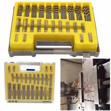150 PCS 0.4mm-3.175mm Micro Twist Drill Bits Set Rotary Tool Grinder Accessory