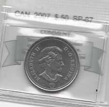 **2007**, Coin Mart Graded Canadian 50 Cent, **SP-67**