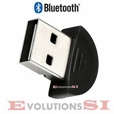 MINI ADAPTADOR BLUETOOTH USB V2.0 PARA WINDOWS XP/VISTA/7/8/10 PC SOBREMESA