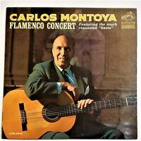 Carlos Montoya   Flamenco Concert   RCA Victor 1964 Vinyl LP Latin