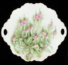 ANTIQUE ROSENTHAL FUCHSIA DECORATIVE PORCELAIN CHINA SERVING PLATE