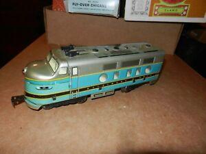 MARX Baltimore & Ohio  #62  A Unit, Tin Litho,  Non-Powered, Original