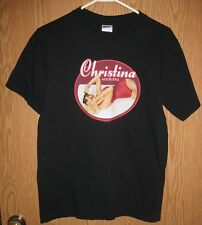 Christina Aguilera - 2007 Back to Basics Tour Concert T-Shirt (Small)