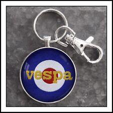 Vintage Vespa shoulder patch Photo Keychain Great Gift 🎁🛵🛵🛵🛵🛵🎁🎁