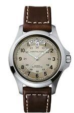 H64455523 Hamilton Khaki Field King Automatic Beige Dial Mens Watch