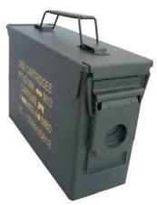 Caja Metal US de Municion M19A1 Cal 30 - cajón metálico original cartucho