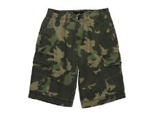 NEW Hurley Kids (Ages 10 -12 Yrs) Commander Short  - Military Camo - Size 28