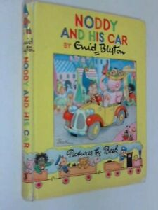 Noddy and His Car by Blyton, Enid Hardback Book The Cheap Fast Free Post