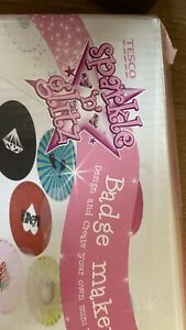 Tesco Sparkle And Glitz Badge Maker Spare Badges Spares And Repairs