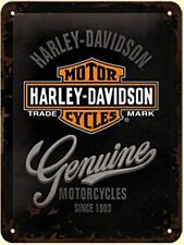 Harley-Davidson Decorative Plaques & Signs