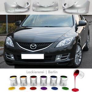 Mazda 6 2007-2010 SRA STOßSTANGE Stoßfänger VORNE LACKIERT IN WUNSCHFARBE, NEU!