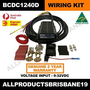 BCDC1240D Redarc BCDC Charger and Complete Wiring Kit - PACKAGE DEAL SAVE $$$$