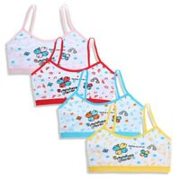 Girls Underwear Child Cartoon Printing Bra Teenage Wire Free Comfy Vest Tops