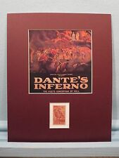 """Dante's Inferno in """"Divine Comedy"""" by Dante Alighieri honored by his own stamp"""