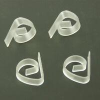 Plastique Transparent Nappe Table De Couverture Pinces Porte-Brides FE