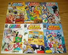Hero Hotline #1-6 VF/NM complete series - dc comics set lot 2 3 4 5 bob rozakis