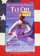 NEW Tai Chi: The Empowering Workout (VHS, 1999) John Saxon, Exercise Video NEW