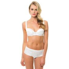 40DD Bluebella ivory satin lingerie set,  balcony cups luxury gift for her NWT