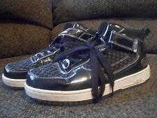Mecca high top mens tennis shoes size 8.5, black, KYLE