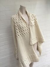 DKNY Pure Wool & Alpaca Knit Open Front Cardigan Size S/ P Small