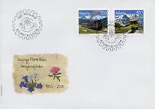 Switzerland 2018 FDC Schynige Platte Wengernalp Railways 2v Cover Trains Stamps