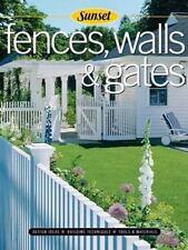Fences, Walls & Gates softcover: Building Techniques, Tools and Materials,