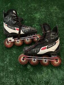 Reebok 5K Inline Roller Hockey Skates 6D Us Shoe Size 7.5 Made In Canada Rare
