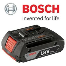 NEW 18V Lithium-Ion Slim Pack 2.0 Ah Cordless Power Tool Battery Bosch BAT612