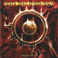 ARCH ENEMY - WAGES OF SIN (+2 Bonus)(2001)Death Metal CD Jewel Case by Fono+GIFT